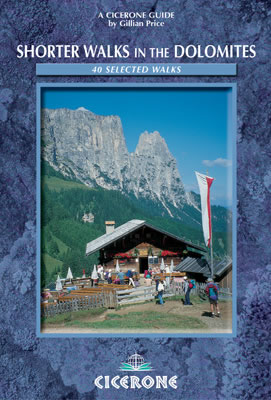 Cover of Shorter Walks in the Dolomites