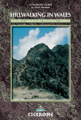 Cover of Hillwalking in Wales - Vol 2