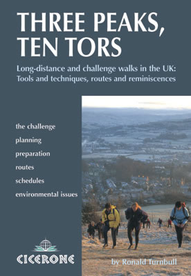 Cover of Three Peaks, Ten Tors