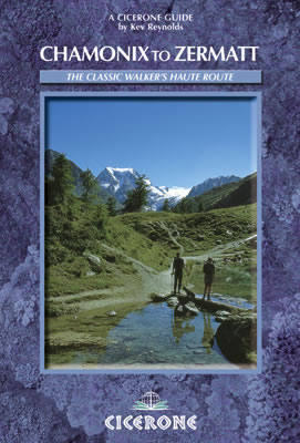 Cover of Chamonix to Zermatt