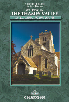 Cover of Walking in the Thames Valley