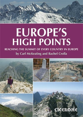Cover of Europe's High Points